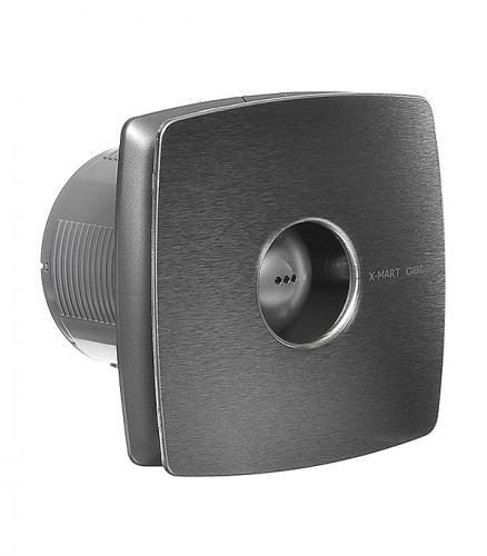 Вентилятор осевой Cata X-Mart 10 Inox d100 мм серебристый