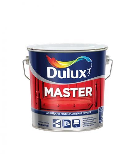 Эмаль алкидная Dulux Master 90 основа BW глянцевая 2.5 л
