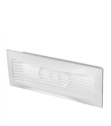 Вентиляционная решетка торцевая для плоских воздуховодов 60х204 мм