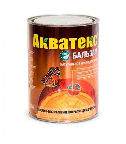Масло для дерева Акватекс Бальзам дуб 0.75 л