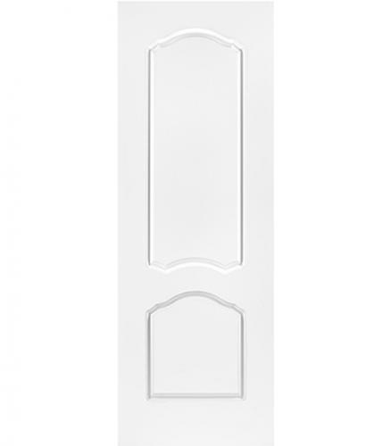 Дверное полотно Арктика белое глухое эмалевое 800х2000 мм