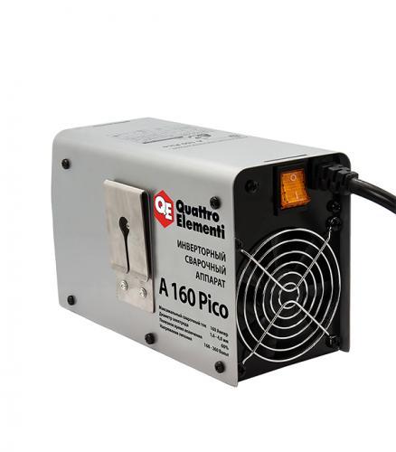 Сварочный аппарат (инвертор) Quattro Elementi A 160 Pico, 220В, 160А, ПВ 60%, до 4.0 мм