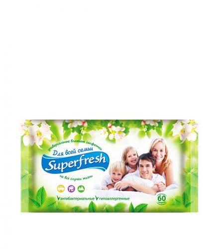 Влажные салфетки Superfresh Универсальные (60 шт)