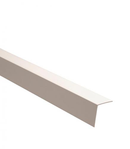 Уголок отделочный пластиковый 30х30х2700 мм белый