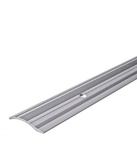 Порог С4 разноуровневый 39.4х1800 мм перепад до 10 мм серебро