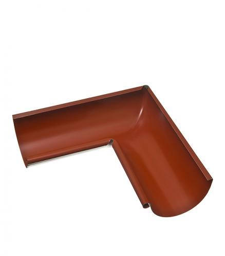 Угол желоба внутренний Grand Line 125/90° красный металлический