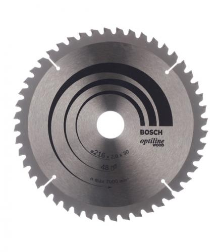 Диск пильный Bosch Optiline 216х48х30 мм