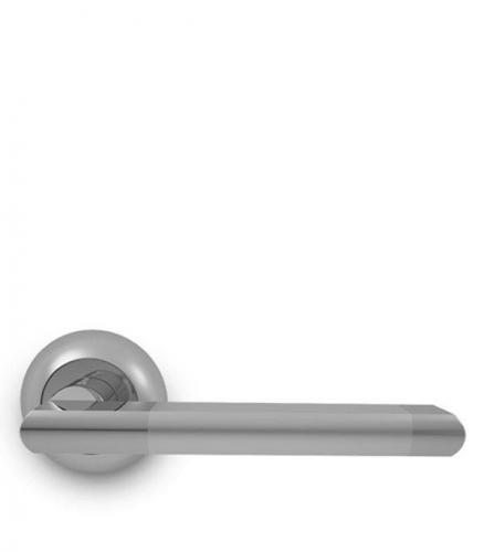 Дверная ручка Palladium Revolution Inizio SC/CP матовый хром/хром