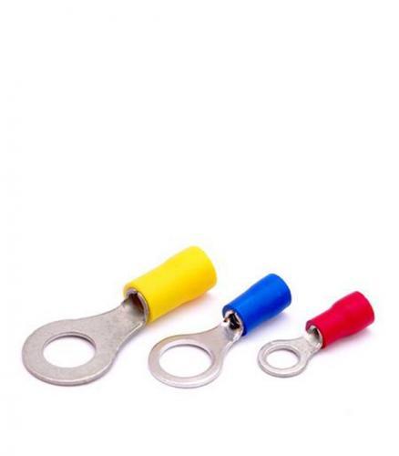 Наконечник кольцевой для провода ИЭК 4-6 кв.мм d=8 мм (100 шт)