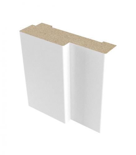 Коробка дверная ламинированная VERDA 21-7 Белый 34х70 мм для ДП с притвором (комплект)
