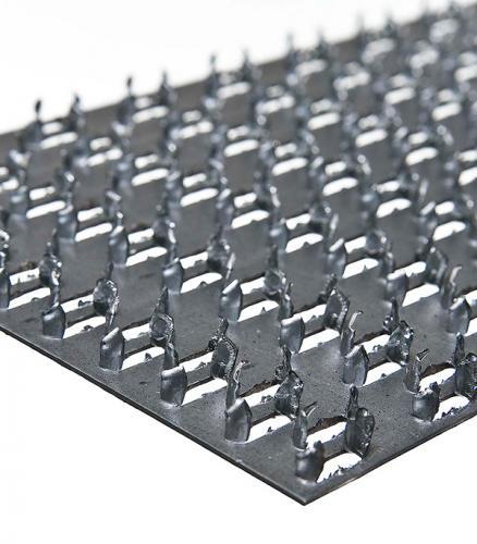 Пластина гвоздевая оцинкованная 129х203х1  мм